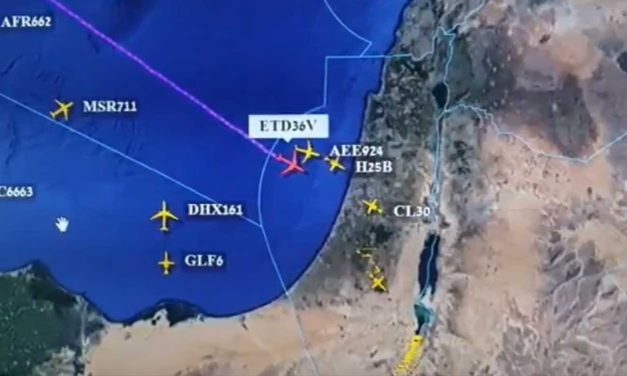 In 'historic' first, Abu Dhabi-bound flight crosses Israeli airspace