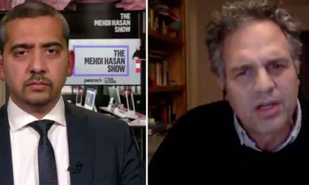 "Watch: Actor Mark Ruffalo gives his anti-Israel views in interview, calls Israel ""apartheid"""