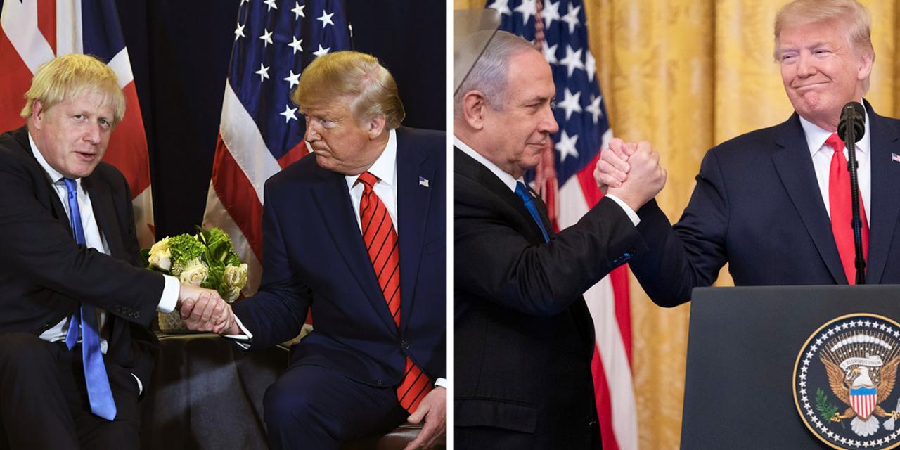 "Netanyahu and Boris wish Trump a ""speedy recovery"""
