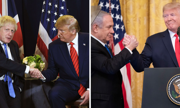 "Netanyahu and Boris wish Trump a ""speedy recovery"""