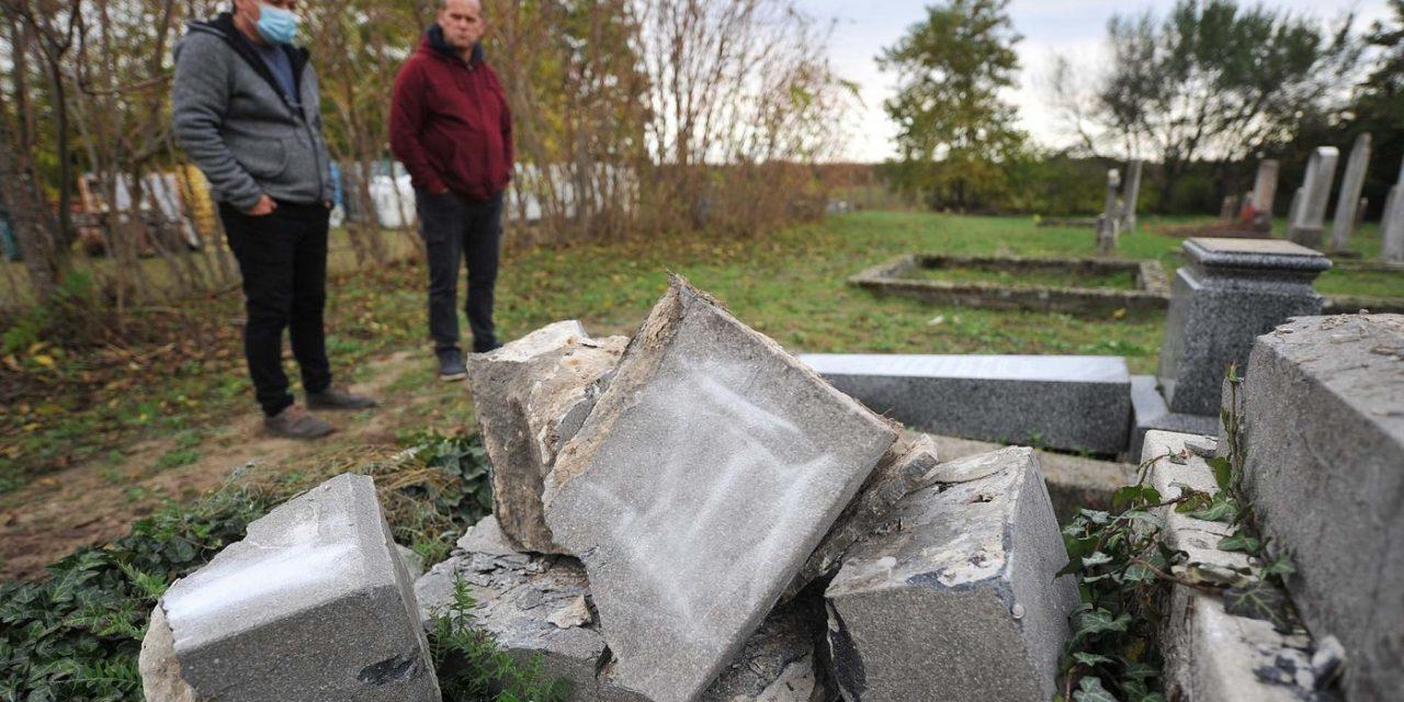 Jewish cemeteries vandalised in Hungary and Moldova