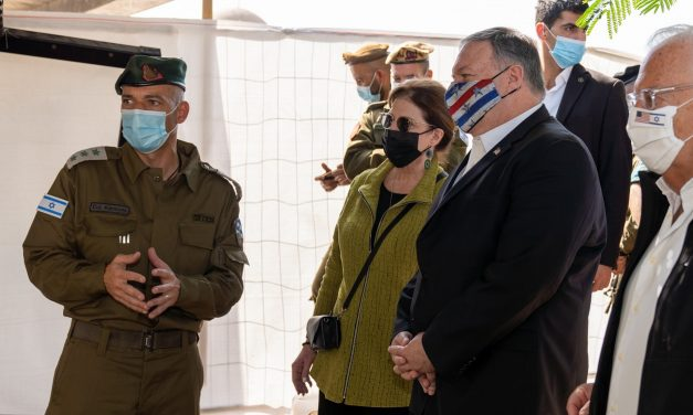 Pompeo visits Jesus' baptism site and makes history by visiting Golan