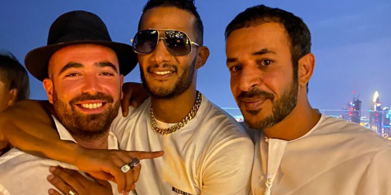 Egyptian actor sparks outrage for taking photo with Israeli singer in UAE