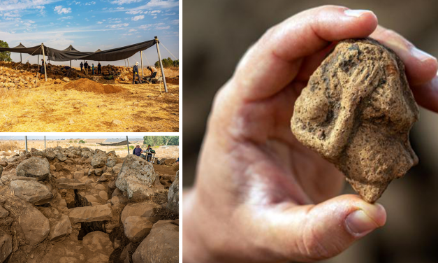 King David era fort unearthed in Golan signalling evidence of 'Geshurites' mentioned in the Bible