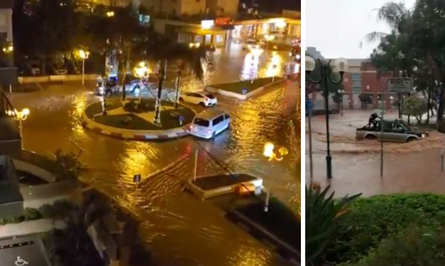 Israel has its wettest November since 1994, causing flooding and damage in coastal cities