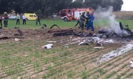 Israel Air Force instructor and cadet killed in Negev plane crash