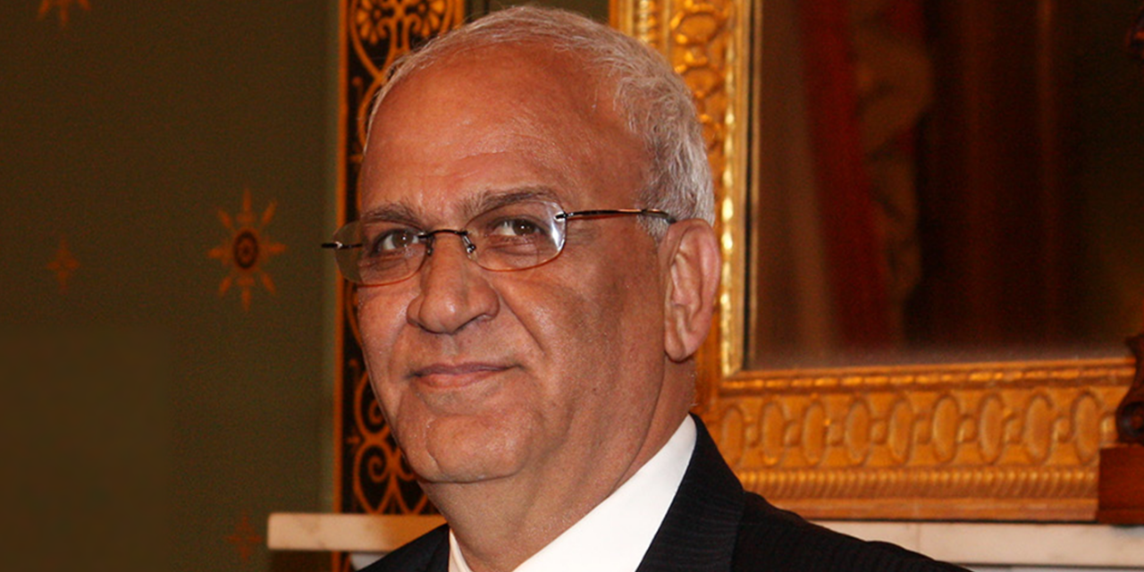 """After Erekat's death, why did British politicians praise this terrorist supporter as a 'Champion of Peace""""?"""