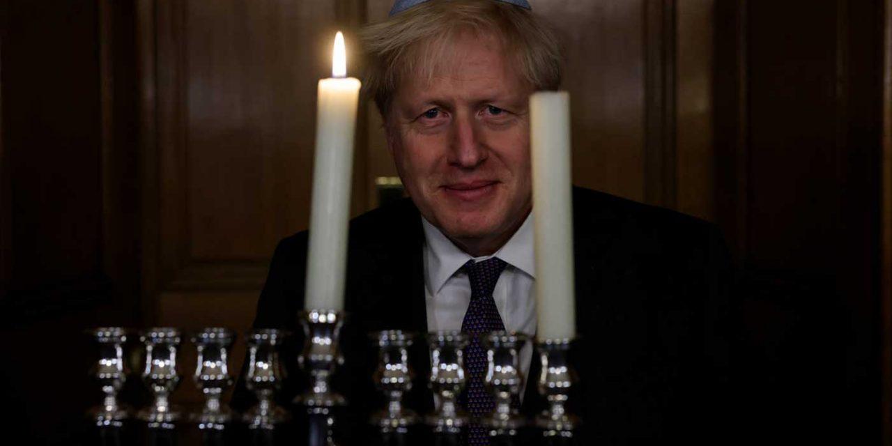 Boris wishes Jewish people 'Chanukah Sameach'