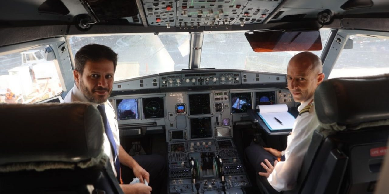 First Israeli commercial airline flies over Saudi and lands in Dubai