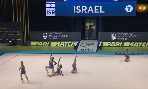 Israeli rhythmic gymnasts win team and individual golds at European Championships