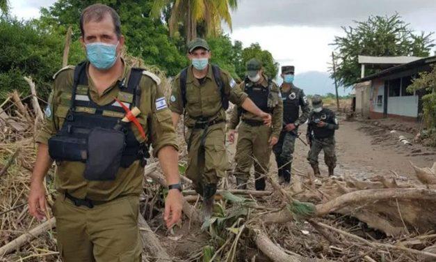 Israeli team assists Honduras after Hurricanes leave thousands homeless