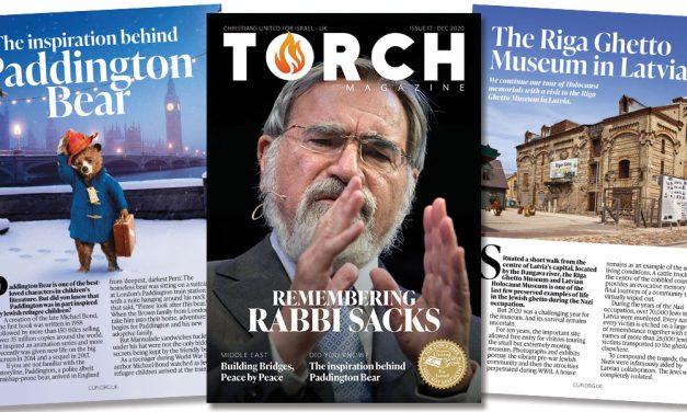 Remembering Rabbi Sacks | Latest TORCH magazine