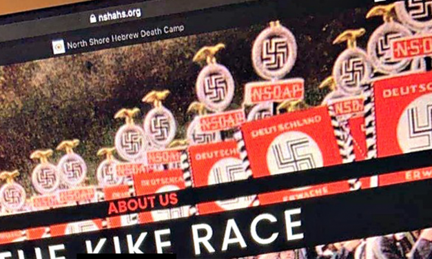 New York Jewish school's website hacked to display anti-Semitic messages and Nazi imagery