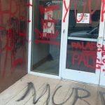 US: Israeli restaurants in Portland vandalised with 'Free Palestine' graffiti
