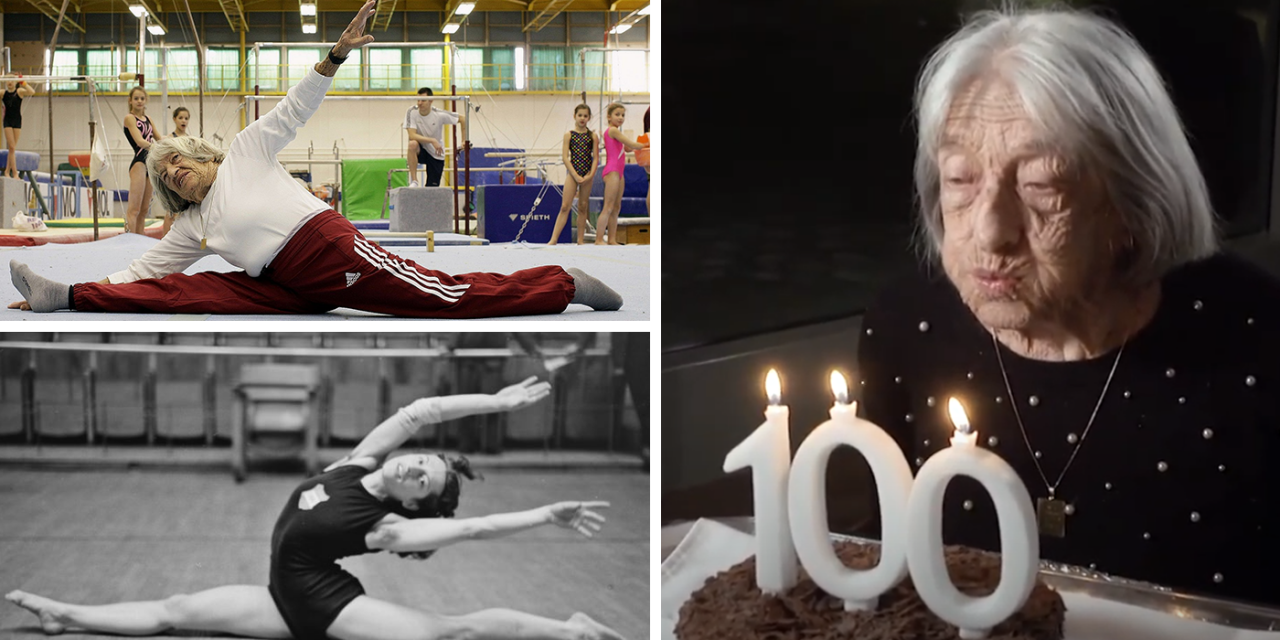 Holocaust survivor and oldest living Olympic champion Agnes Keleti celebrates 100th Birthday