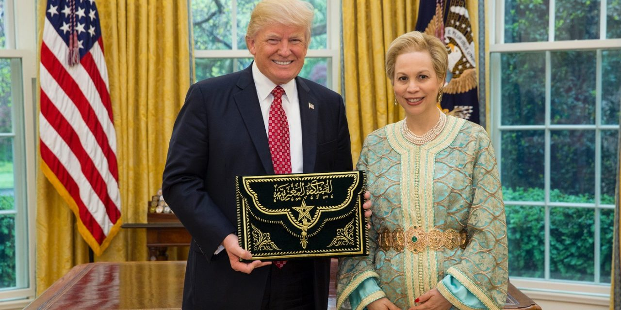Morocco awards Trump with highest honour for Middle East peace agreements