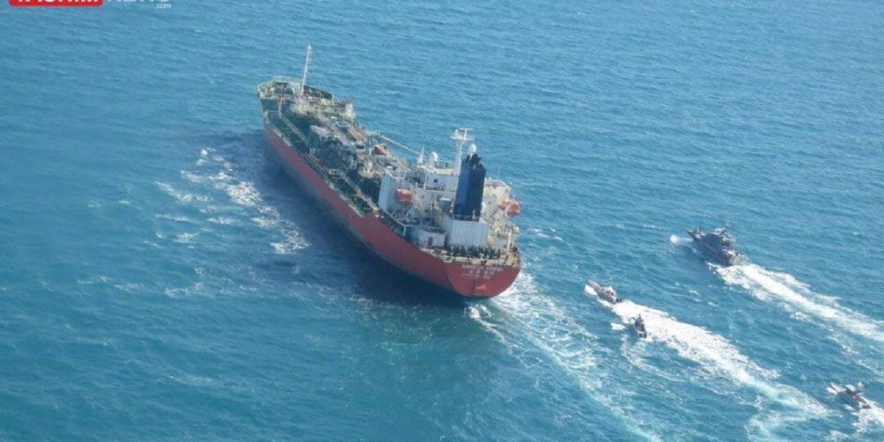 Iran seizes South Korean-flagged oil tanker en-route to the UAE