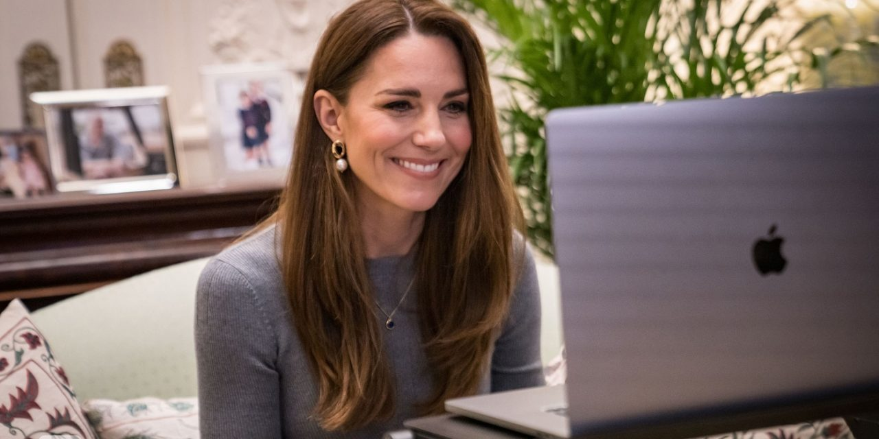 Duchess of Cambridge speaks to Holocaust survivors in moving video call