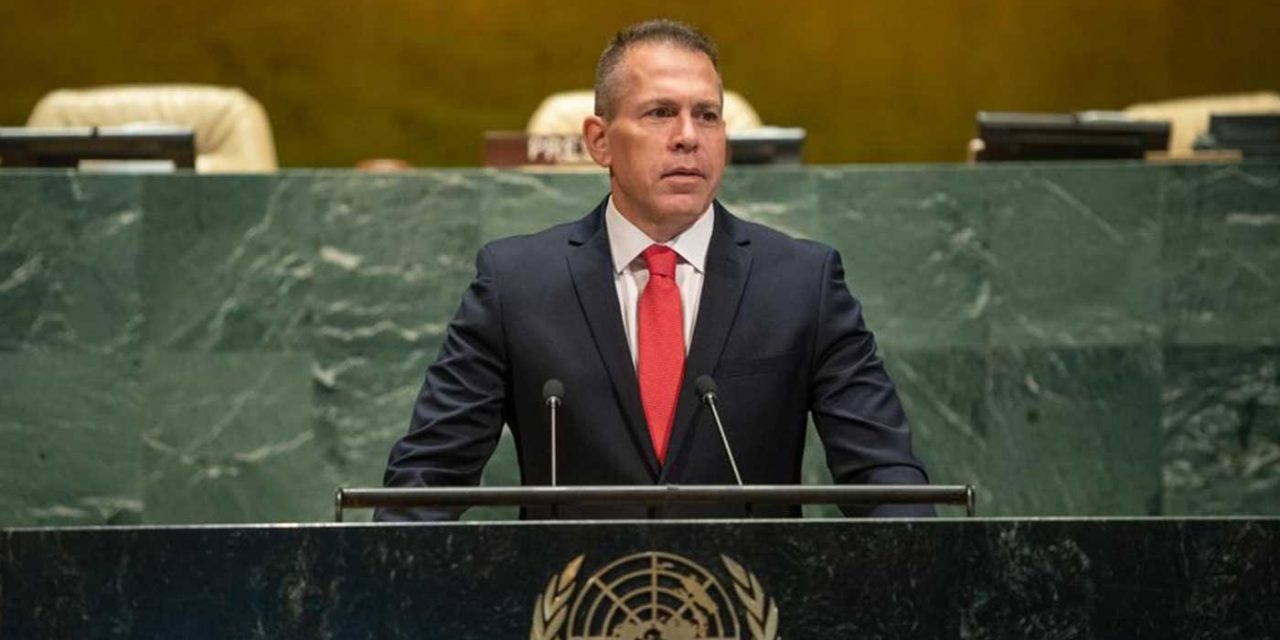 Israeli Ambassador tells UN: 'Israel will never apologise for defending our citizens from Hamas'