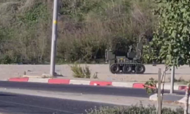 IDF removes explosive from Samaria bus stop