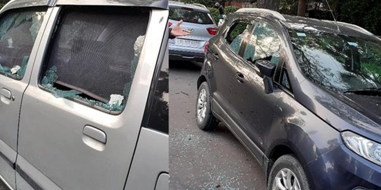 Improvised explosive detonated outside Israeli embassy in Delhi