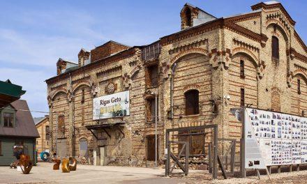 The Riga Ghetto Museum in Latvia