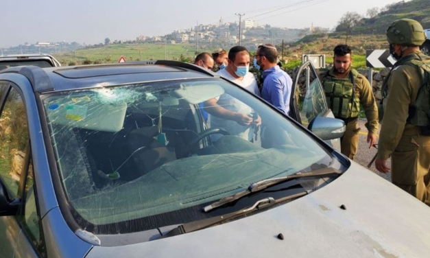 Israeli woman seriously hurt in stone throwing attack on family car