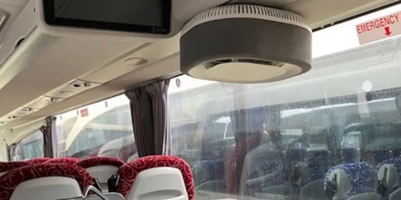 Israeli air purifiers fitted in 400 UK, Irish buses carrying essential workers
