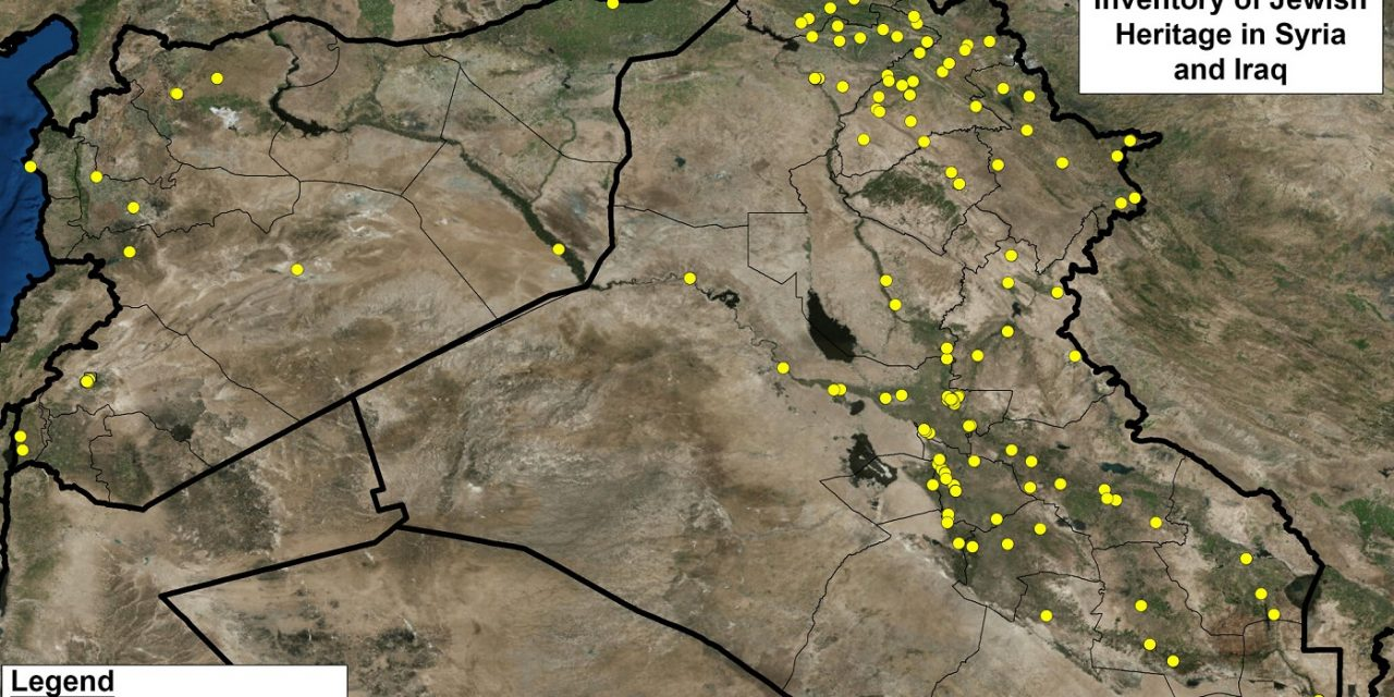 2,000 Jewish heritage sites in Iraq and Syria listed for UK and allies to avoid in conflict