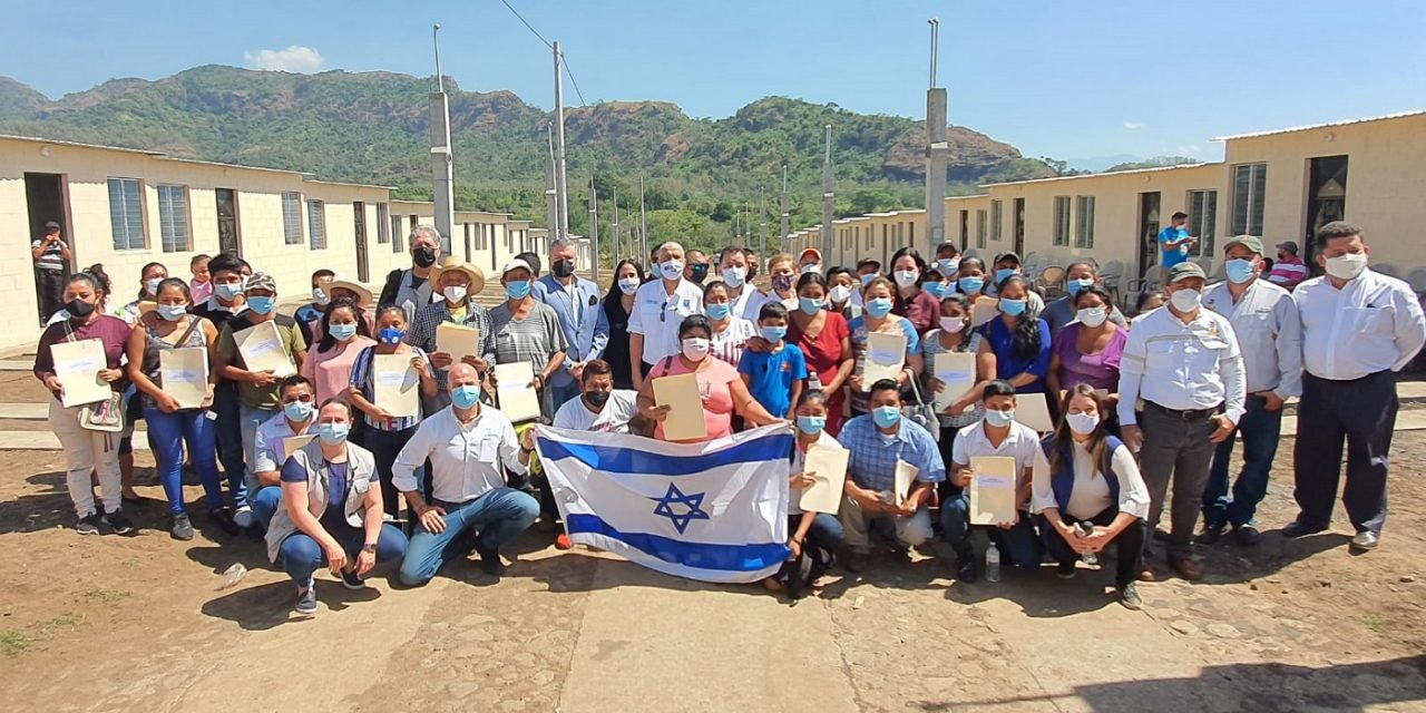 Israel builds new homes for 39 Guatemalan families after volcanic eruption