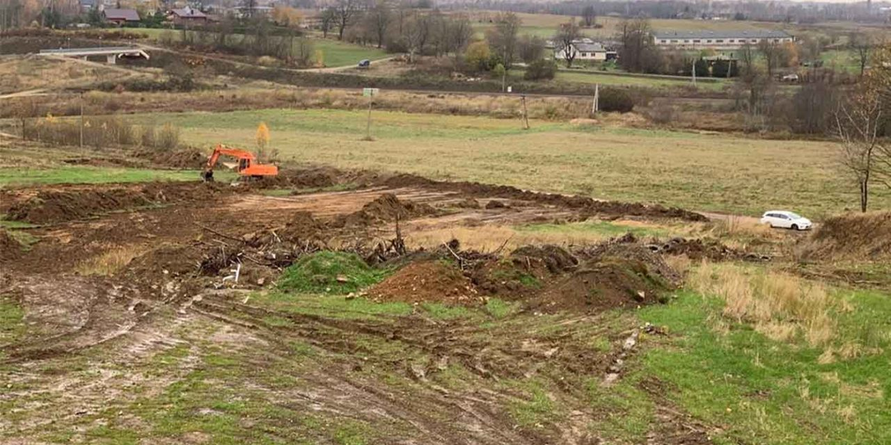 Lithuania: Holocaust mass grave threatened as illegal construction begins on site