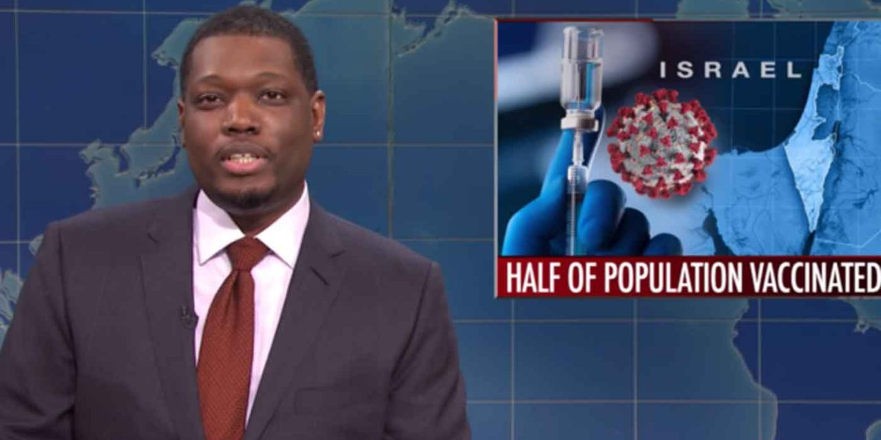 SNL under fire for joke that Israel only vaccinating Jews