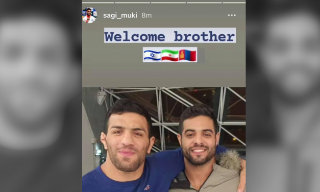"""""""Welcome brother"""" – Exiled Iranian judo champion lands in Israel for Tel Aviv tournament"""