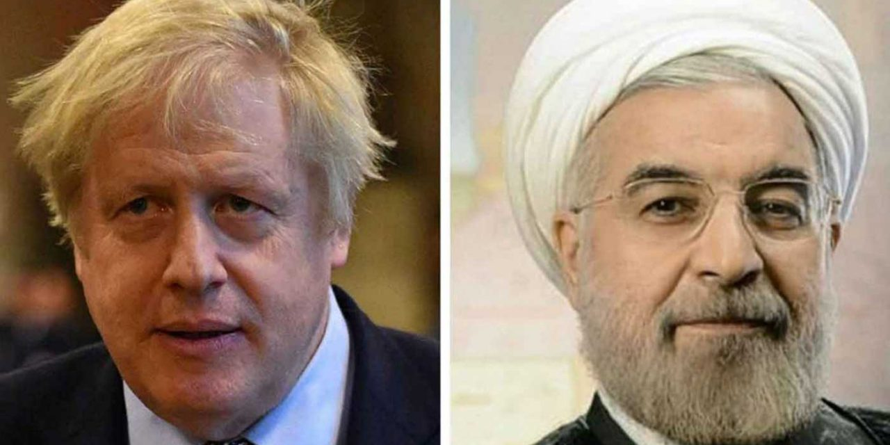 Boris tells Rouhani: 'Send Zaghari-Ratcliffe home, stop enriching uranium and cease destabilising Middle East'