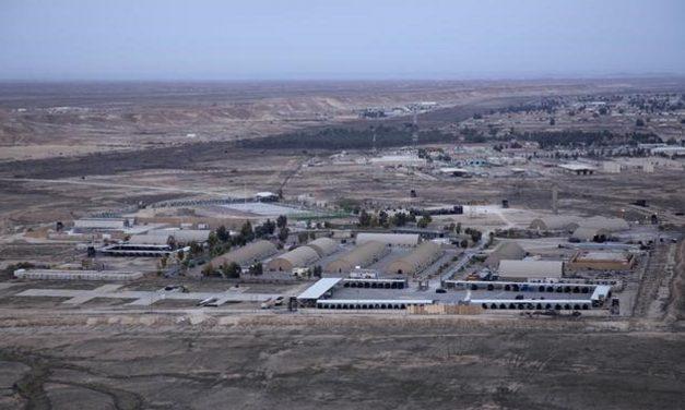 "10 rockets fired at Iraqi air base hosting US troops ""fits profile of Iran-backed militia"", US officials say"