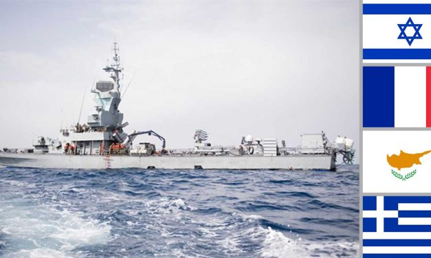 Israel leads naval exercises with France, Greece and Cyprus