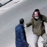 Dramatic footage shows Israeli civilian fending off Palestinian knifeman