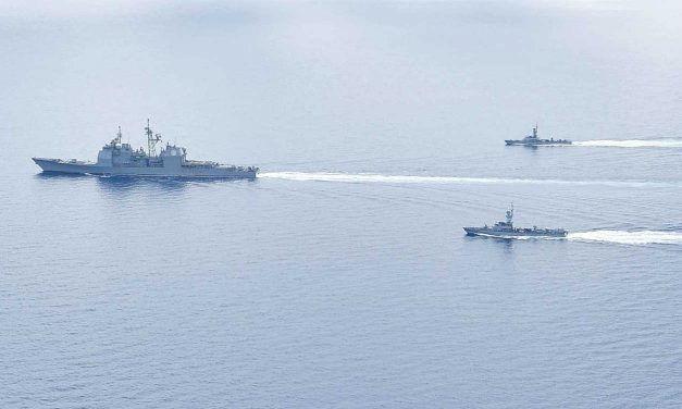 US and Israeli warships conduct joint patrols in Mediterranean