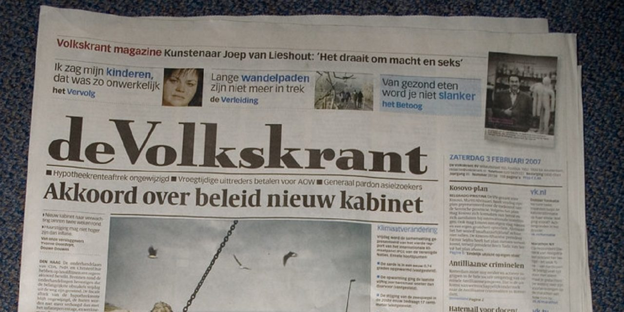 Dutch newspaper apologises for anti-Semitic cartoon