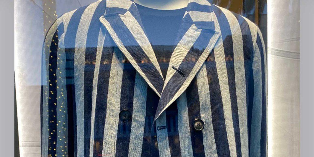 Armani removes 'offensive' jacket resembling Holocaust camp uniform