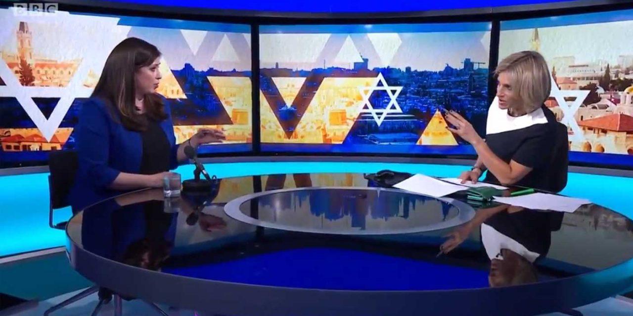 Israel's ambassador to UK 'fact checks' hostile BBC interviewer's false accusations