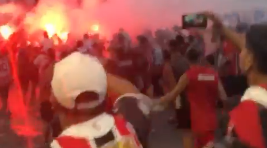 Argentine football fans chant about 'killing the Jews'