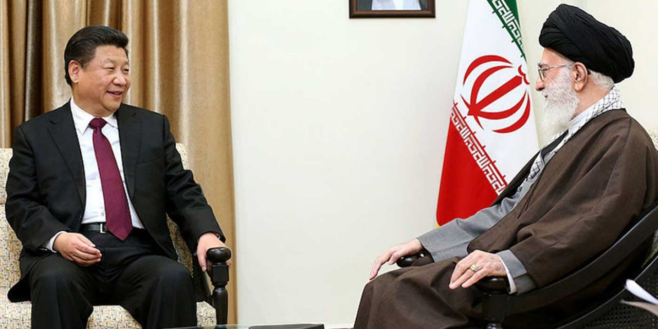 Iran-China megadeal includes military info sharing and pumps $400 billion into Iran's economy