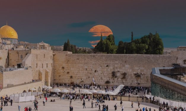 Jerusalem is Israel's capital, today, tomorrow and forever