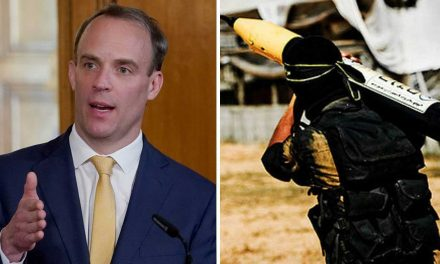 UK condemns Hamas for firing rockets into Israel – 'End targeting of civilian populations'