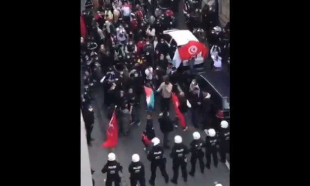 Germany: Palestinian supporters chant 's****y Jews' outside a synagogue