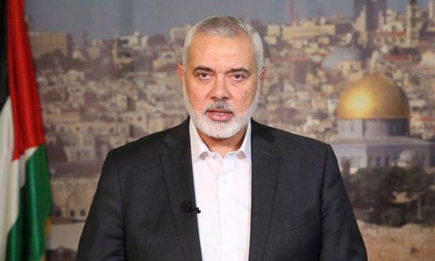 Hamas's Haniyeh thanks Iran for money and rockets