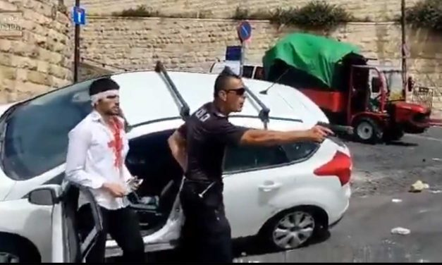 Palestinian rioters attempt to 'lynch' Israeli driver near Old City of Jerusalem