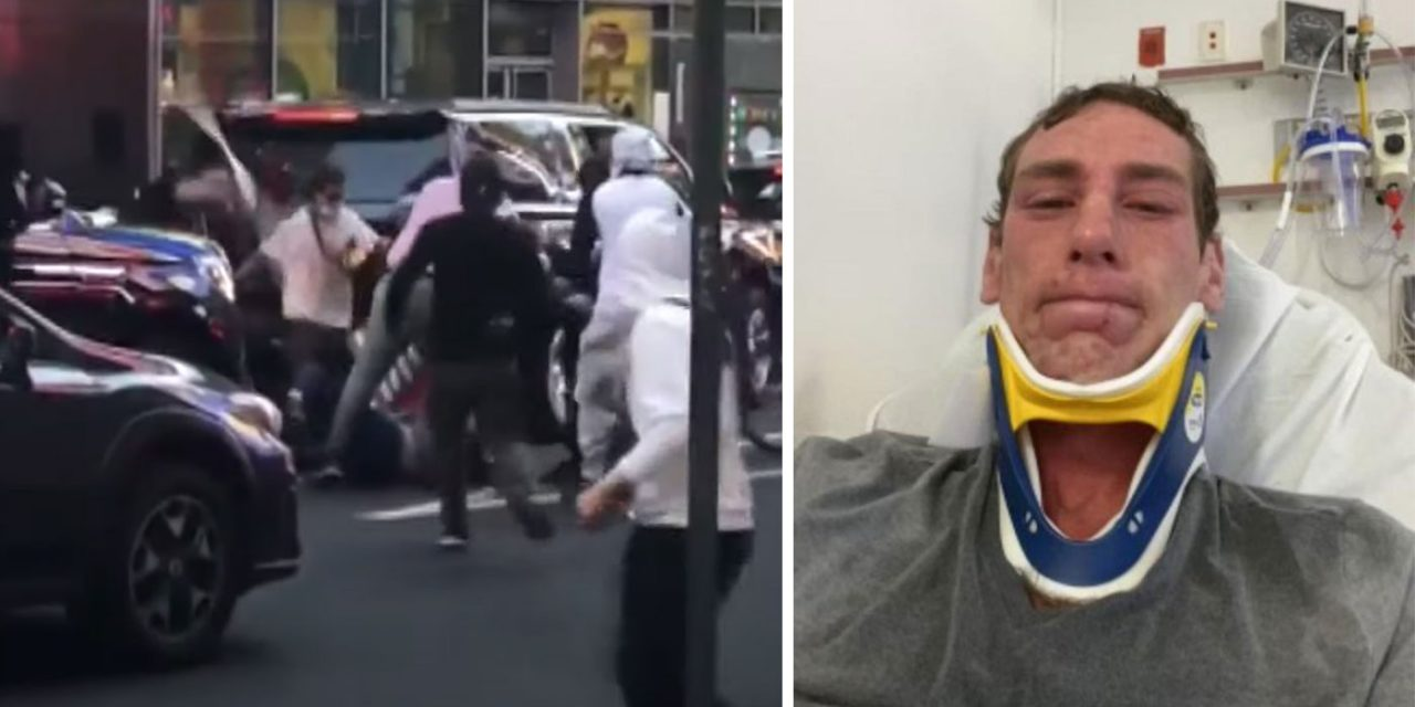 'Thought I was going to die': Jewish man assaulted by pro-Palestine mob in New York speaks out