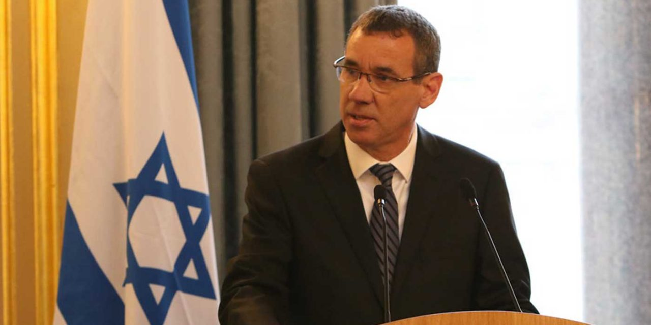 Mark Regev: 'Peace cannot happen with Hamas'